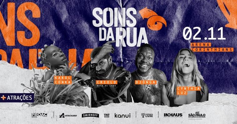 Flyer sons da Rua 2019
